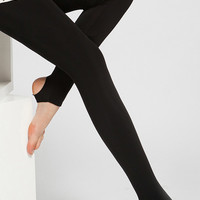 Anchored Leggings with Inner Napping - OASAP.com