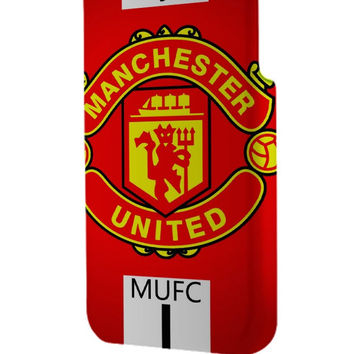 Best 3D Full Wrap Phone Case - Hard (PC) Cover with Manchester United Logo Design
