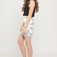 Numbers and Letters Dress