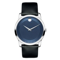 Men's Movado Museum Classic Blue Dial Watch