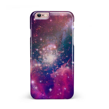 Vibrant Sparkly Pink Space iPhone 6/6s or 6/6s Plus INK-Fuzed Case