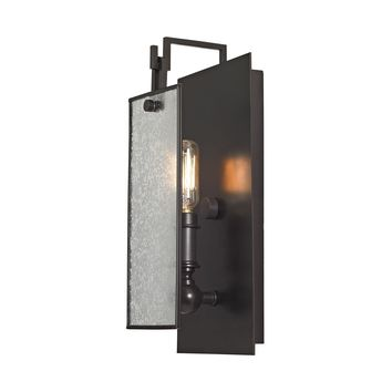 57090/1 Lindhurst 1 Light Wall Sconce In Oil Rubbed Bronze