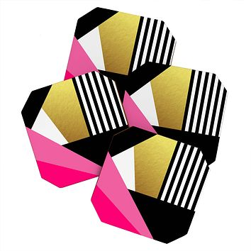 Elisabeth Fredriksson Sweet and glamorous Coaster Set