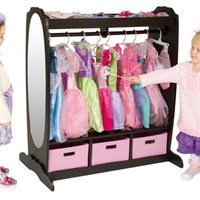 Guidecraft Dress Up Storage Espresso - G98099