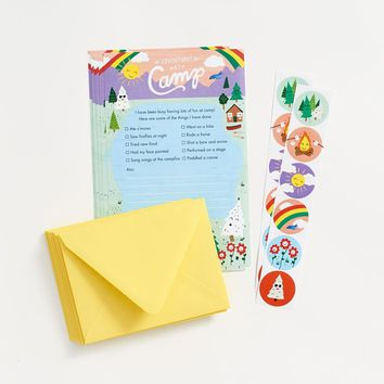 Adventures From Camp Stationery Set