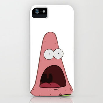 Shocked Patrick Star iPhone Case by Abigail Ann   Society6