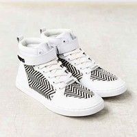 Eleven Paris Raf High-Top Sneaker- Black & White