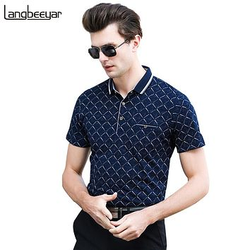 Polo Shirt Men Slim Fit Men Polo Shirts Short Sleeve Summer Men's Clothing