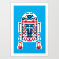 Artoo Art Print by KOMBOH