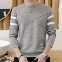 Mens Round Neck Slim Fit Sweater