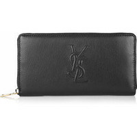Yves Saint Laurent | Belle Du Jour leather wallet | NET-A-PORTER.COM