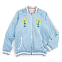 Stella McCartney Kids Willow Reversible Bomber Jacket (Toddler Girls, Little Girls & Big Girls) | Nordstrom