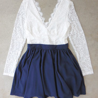 Laced Horizon Party Dress