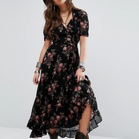 Denim & Supply By Ralph Lauren Floral Print Maxi Dress at asos.com