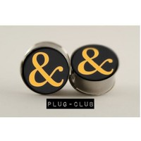 Ampersand of Mice and Men Plugs by Plug-Club | Plug-Club.com