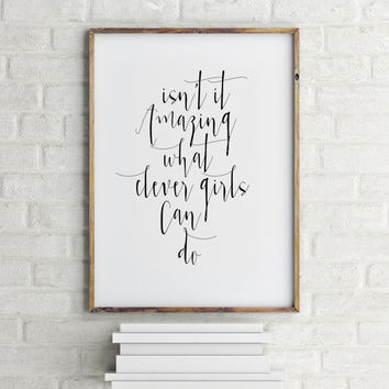 Instant downlod Peter Pan poster Peter Pan quote Peter pan art Inspirational poster Nursery poster Gift idea Nursery quote Teen poster