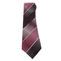 Kenneth Cole Reaction Mens Silk Striped Neck Tie