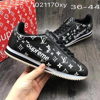 NIKE x Supreme x LV Classic Running Sneakers Sport Shoes