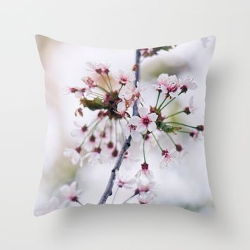 Eria Throw Pillow by Kristopher Winter
