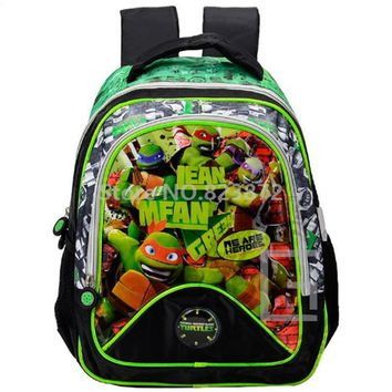 Teenage Mutant Ninja Turtles Children School Bags Kindergarten Preschool Backpacks for Boys School Backpacks Kids Bag Schoolbag