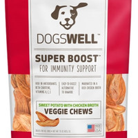 Dogswell Super Boost Sweet Potato/Chicken Veggie Dog Chews 15oz