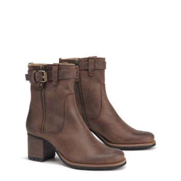 Madison Boot in Dark Brown by Trask