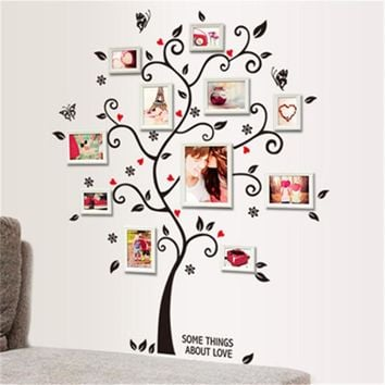 Family Tree Photo Frame Wall Sticker