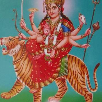 The Durga, Riding a Tiger