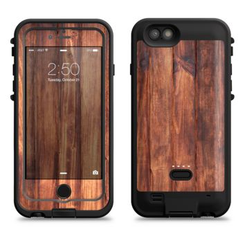 The Bright Stained Wooden Planks  iPhone 6/6s Plus LifeProof Fre POWER Case Skin Kit