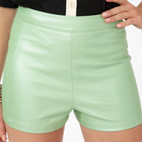 High-Waisted Hot Pants