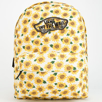 Vans Realm Backpack White One Size For Women 25222815001