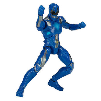2017 Mighty Morphin Power Rangers Legacy 6.5 inch Action Figure - Blue Ranger