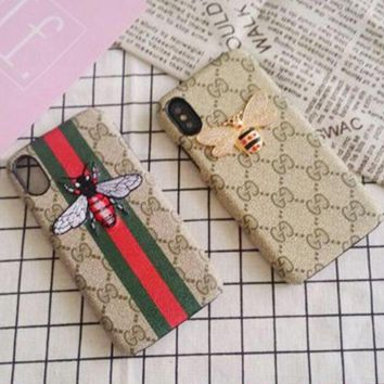 Gucci Hot ! Trending Print iPhone X iPhone 8 iPhone 8 plus - Stylish Cute On Sale Hot Deal Apple Matte Couple Phone Case For iphone 6 6s 6plus 6s plus iPhone 7 iPhone 7 plus