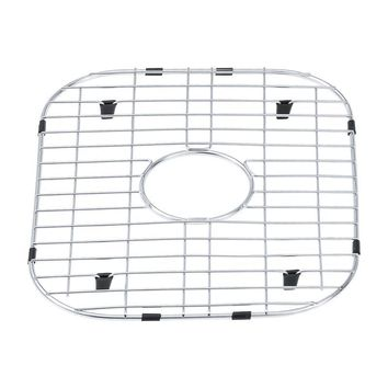 DAX-GRID-1720 / DAX GRID FOR KITCHEN SINK, STAINLESS STEEL BODY, CHROME FINISH, COMPATIBLE WITH DAX-1720, 17-1/4 X 14-1/2 INCHES