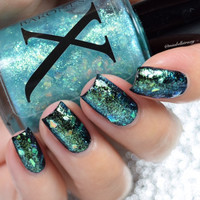 Arcadia - Shifting Glass Flakie Polish