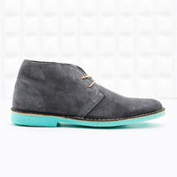 Selected Homme Leon Desert Boots in Grey - Urban Outfitters