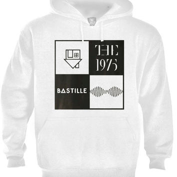 The neighbourhood, The 1975, Bastille, Arctic monkeys Logo band Music Hoodie