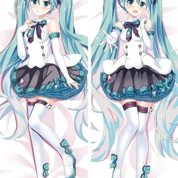 Anime VOCALOID Hatsune Miku Kagamine Pillow Cover Case Hugging Body bedding Pillowcases