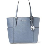 MICHAEL Michael Kors MICHAEL Michael Kors Jet Set Travel Large Tote Pale Blue