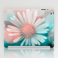 iPad CASES and SKINS - iPad Case (2nd, 3rd, 4th Gen) - iPad Mini CASE - iPad Mini Skin - Little White Flower In The Cold Light Of Morning