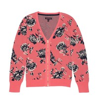 Jacquard Zip Cardigan by Juicy Couture