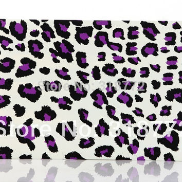 Hot new Fashion Leopard Pattern Design Matte Rubberized Hard Case Cover Shell For Apple Macbook Pro Air 11 13 15 Retina 13 15