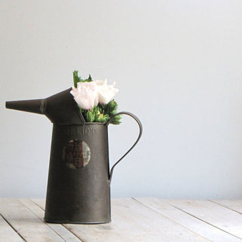 vintage industrial rustic oil can