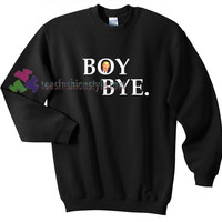 Boy Bye Hillary US election gift sweatshirt sweater tees