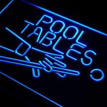 Pool Tables Bar LED Neon Light Sign
