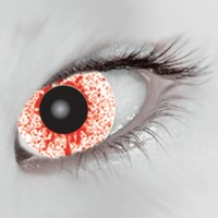 Mesmereyez Bloodshot Drops Coloured Contacts (Comfort)