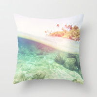 Summer Lovin Throw Pillow by Sunkissed Laughter