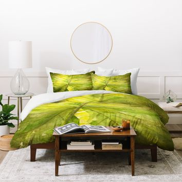 Rosie Brown Garden Shadows Duvet Cover