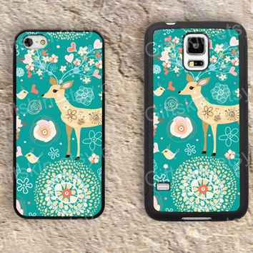 mandala flower Christmas iphone 4 4s iphone  5 5s iphone 5c case samsung galaxy s3 s4 case s5 galaxy note2 note3 case cover skin 172