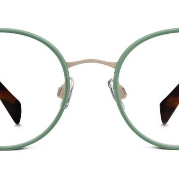 Milton Eyeglasses in Aloe Green for Women | Warby Parker